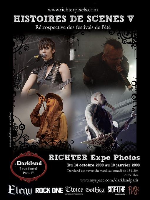 H.D.S. V : Exposition photos-souvenirs des festivals d'été FlyerHDS5