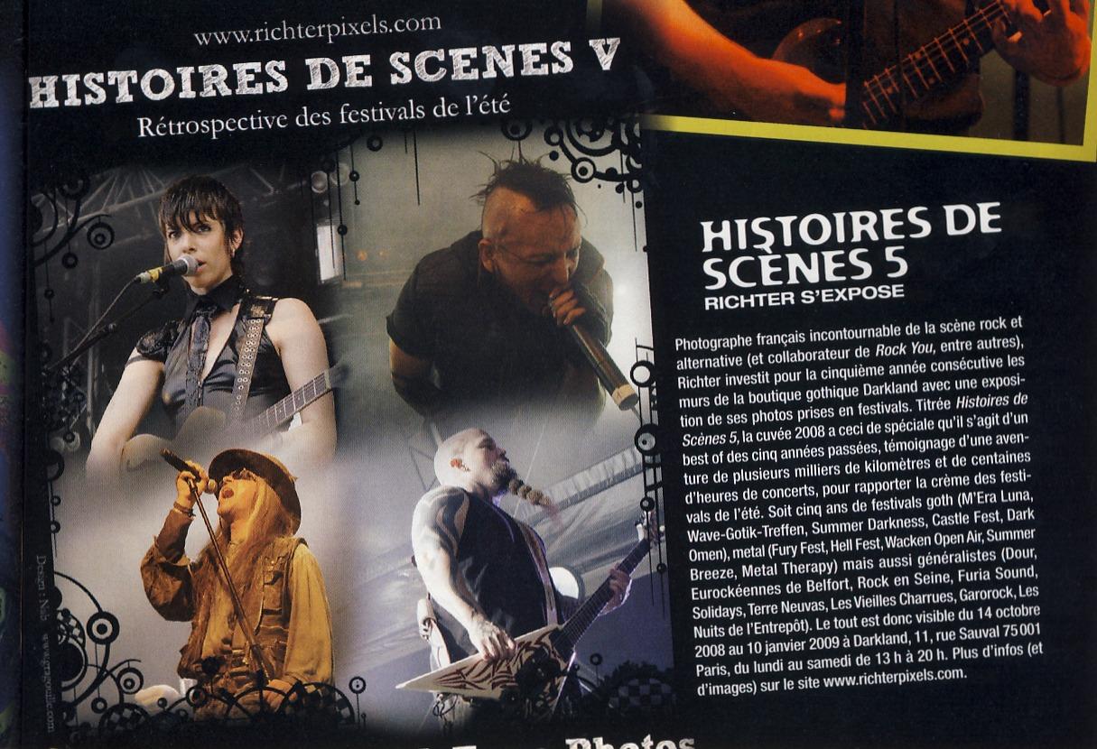 H.D.S. V : Exposition photos-souvenirs des festivals d'été RockYou21_Article